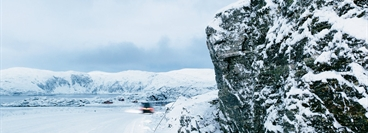 Northern Norway: Hammerfest is Europe's northern-most city. Tapping natural gas reserves in farflung regions with extreme environmental conditions poses major technical challenges. But because of the gulf stream the sea remains ice-free even in winter.