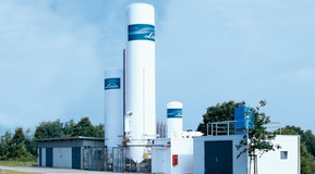Bulk gas plant Linde, On-site supply with ECOVAR system.