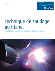Brochure Technique de soudage au titane, Thumbnail French