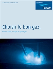 Brochure Choisir le bon gaz, Thumbnail French