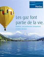Brochure PanGas Portrait, Thumbnail French