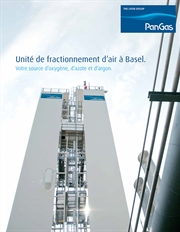 Brochure Unité fractionnement d'air à Basel, Thumbnail French