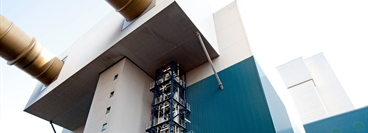 CO2 flue gas wash unit (pilot plant)